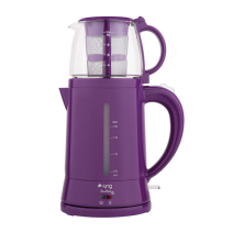 King Teamax K-8500 Çay Makinesi Mor