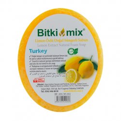 Bitkimix Limonözlü Doğal Süngerli Sabun