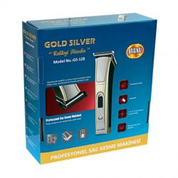 Gold Silver GS-128 Profesyonel Saç Kesme Makinesi